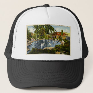 Pond at Clinch Park Traverse City, Michigan Trucker Hat