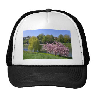 Pond at Falaise in France Trucker Hat