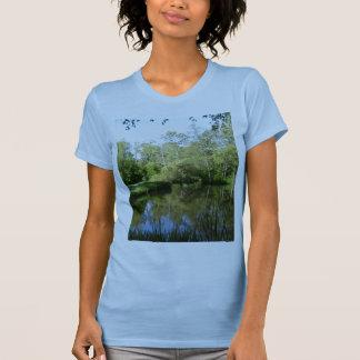 Pond at Sireköping Sweden Shirts