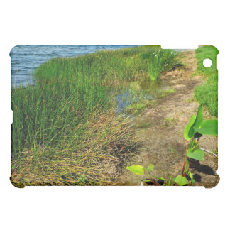 Pond bank with pond plants case for the iPad mini
