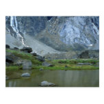 Pond beneath Mount Thor on Baffin Island, NWT, Can Post Cards