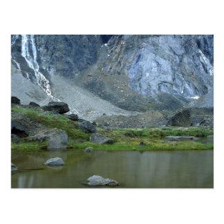 Pond beneath Mount Thor on Baffin Island, NWT, Can Postcard
