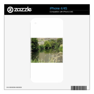 Pond by the Road Skins For iPhone 4S