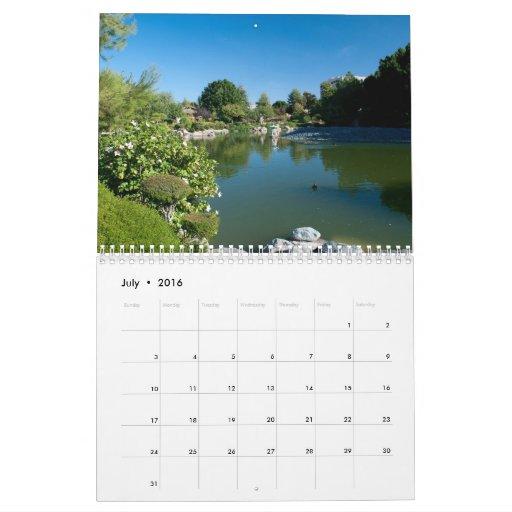 Pond calendar
