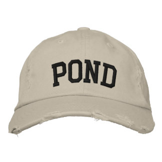 Pond Embroidered Hat Embroidered Baseball Cap