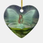 Pond Fairy Christmas Tree Ornament