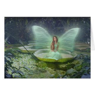 Pond Fairy Greeting Card