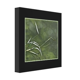 Pond Grass Gallery Wrap Canvas