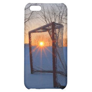 Pond Hockey Sunset iPhone 5C Cover
