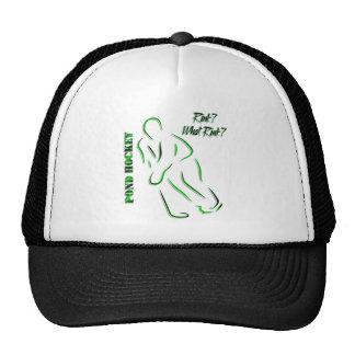 "Pond Hockey ""What Rink?"" Trucker Hat"