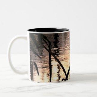 Pond Impressions mug