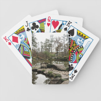 Pond in Forest Bicycle Playing Cards