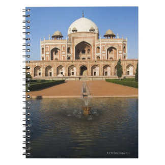 Pond in Front of a Tomb Notebook
