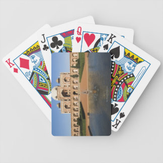 Pond in Front of a Tomb Poker Cards