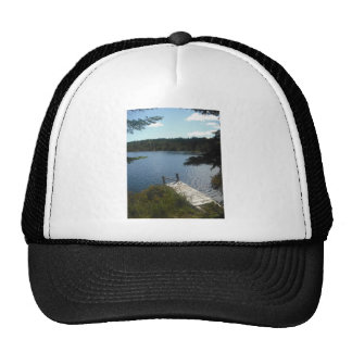Pond in Maine Mesh Hat