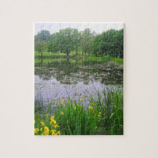 Pond in Springtime Puzzle