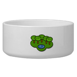 Pond in the Park Pet Food Bowls