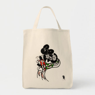 Pond Koi Silhouette art bag