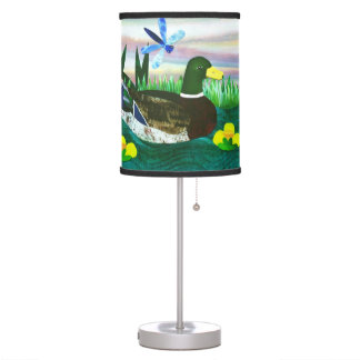 Pond Life Desk Lamp