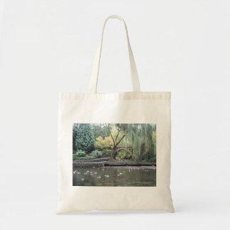Pond Memories Tote Canvas Bag