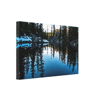 Pond on the Pacific Crest Trail Gallery Wrapped Canvas