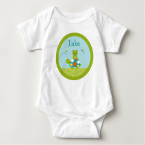 Pond Pals Frog Turtle Baby Birthday T-Shirt