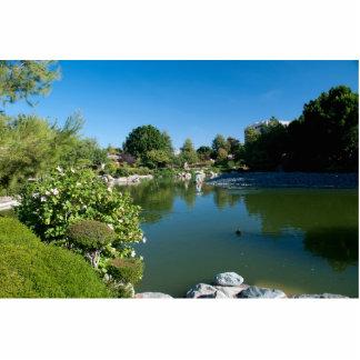 pond photo sculpture