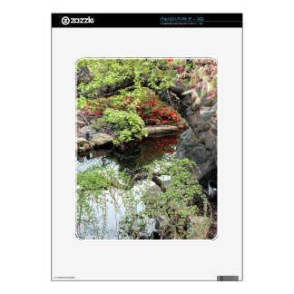 Pond Reflections iPad Decal