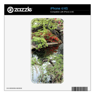 Pond Reflections iPhone 4 Decal