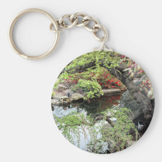 Pond Reflections Keychain