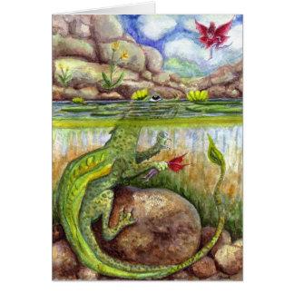 Pond Scum Card