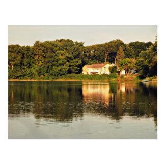 Pond St. - Winchester, MA Postcard