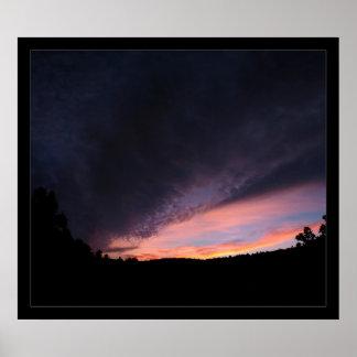Pond Sunset Print
