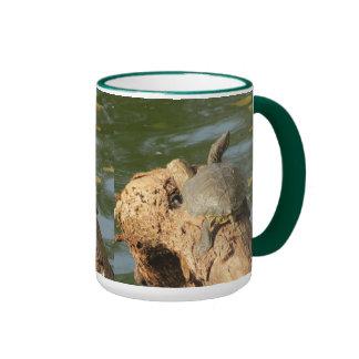 Pond Turtle Ringer Mug
