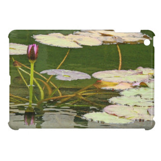 Pond Water Garden Waterlily Flower Floral Lilypads Case For The iPad Mini