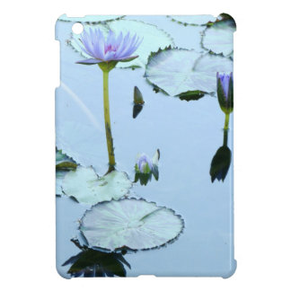 Pond Water Garden Waterlily Flower Floral Lilypads Cover For The iPad Mini