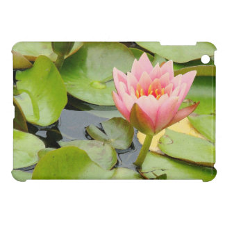 Pond Water Garden Waterlily Flower Floral Lilypads iPad Mini Cover