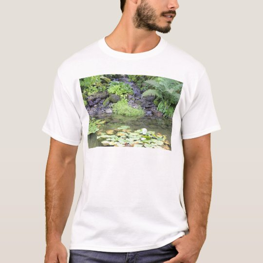 Pond with a Small Waterfall T-Shirt