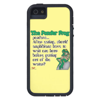 Ponder Frog  Amphibians iPhone SE/5/5s Case