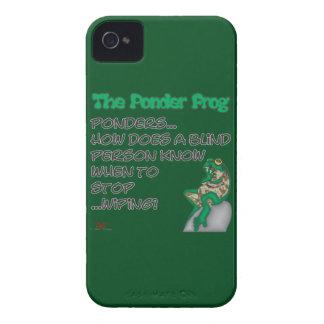 Ponder Frog Blind iPhone 4 Case