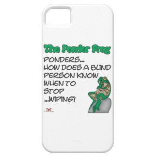 Ponder Frog Blind iPhone SE/5/5s Case