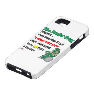 Ponder Frog-Care Less iPhone SE/5/5s Case