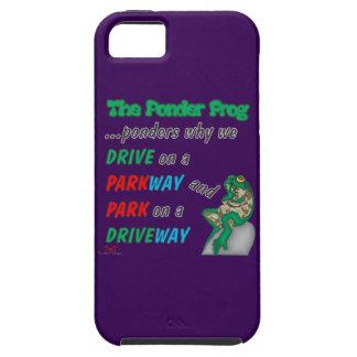 Ponder Frog Park-Drive iPhone SE/5/5s Case