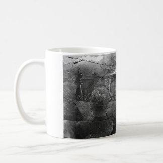 ponder classic white coffee mug