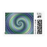 Pondering - Fractal Postage Stamps