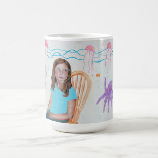 Pondering Jellies Classic White Coffee Mug
