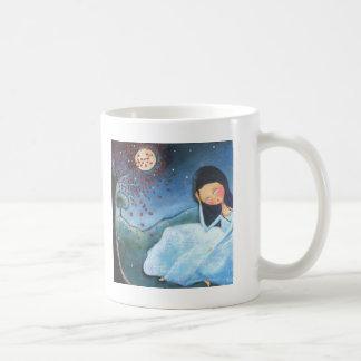Pondering Classic White Coffee Mug