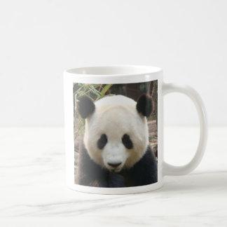Pondering Panda Classic White Coffee Mug