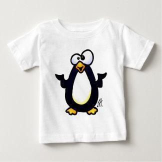 Pondering Penguin Baby T-Shirt