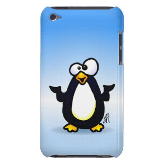 Pondering Penguin Barely There iPod Case